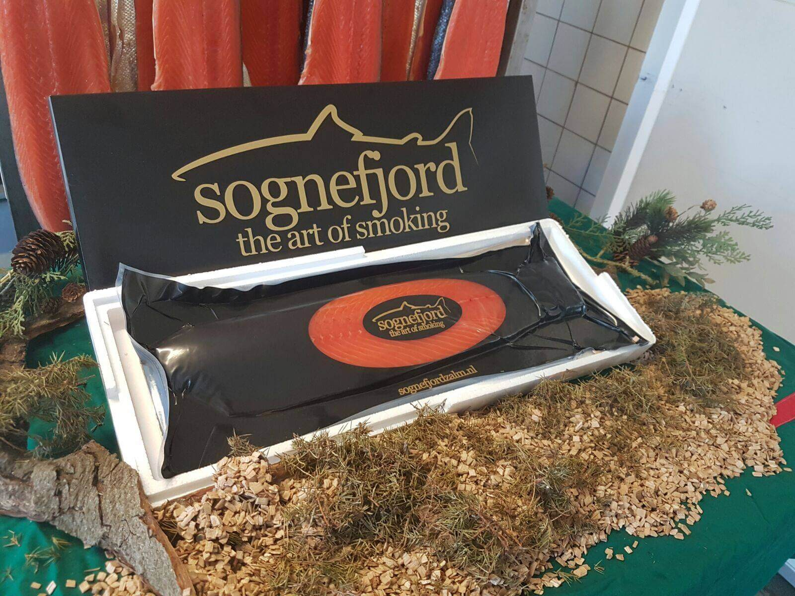 Sognefjord zalm kerstpakket